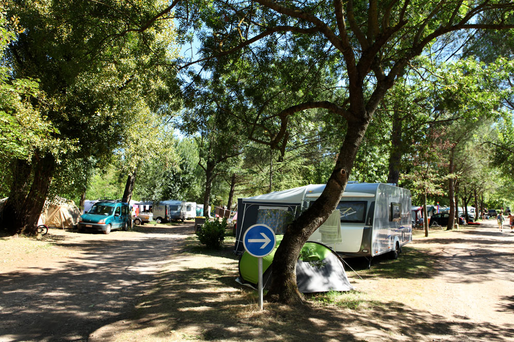 Camping La Sieste, pitches