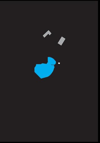 La Sieste campsite map
